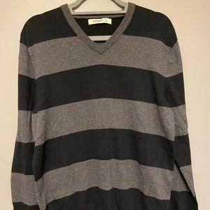 Black Striped Sweater |  Old Navy | Black